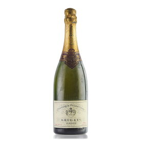 クリュッグ プライベート キュヴェ エクストラ セック 1952 フランス シャンパン シャンパーニュ 新入荷[のこり1本]