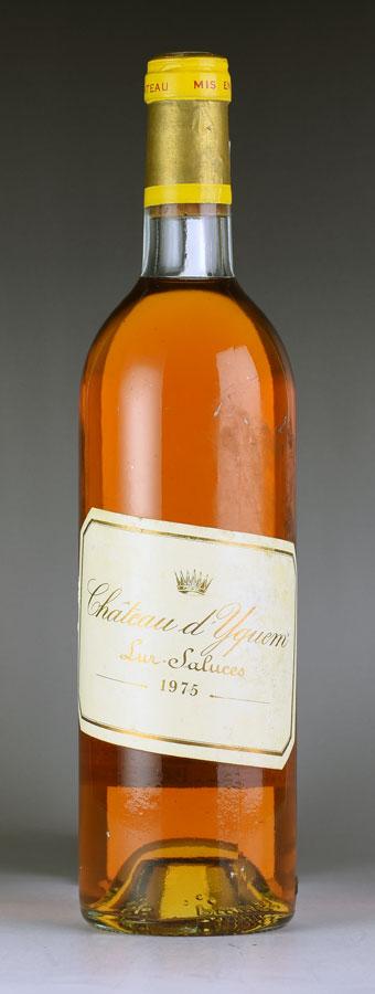 [1975] シャトー・ディケム【イケム】 ※ラベルずれ Chateau d'Yquem