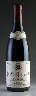 [1995] グリオット/샘 벨 탄 ヴィエイユ/ヴィーニュ 도메인/푸리에 750ml Griotte Chambertin Vieilles Vignes Domaine Fourrier