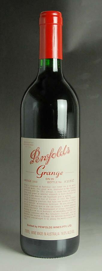 [1999] ペンフォールズ【ペンフォールド】 グランジ 750ml 1本Penfolds Grange