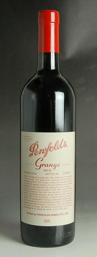 [2004] ペンフォールズ【ペンフォールド】 グランジ 750ml 1本Penfolds Grange