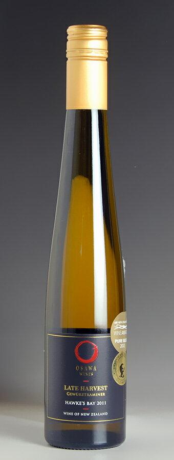 【在庫一掃SALE 15%OFF】[2011] 大沢ワインズ プレステージ・コレクション レイト・ハーベスト ゲベルツトラミネール 375ml