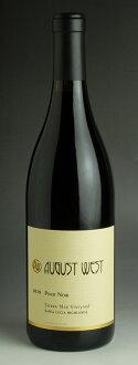 [2010] August West Sierra Mar, vineyard Pinot Noir 750 ml August West Sierra Mar Vineyard Pinot Noir