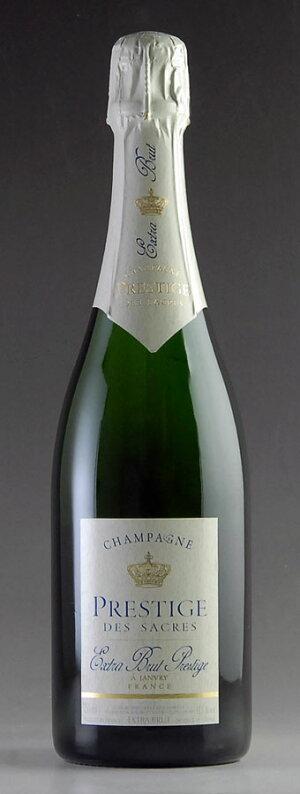 シャンパーニュプレステージエクストラ・ブリュット【自社輸入】ChampagnePrestigedesSacresExtraBrut750ml