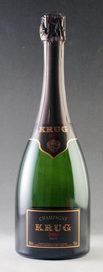 [2002] クリュッグ ヴィンテージ 750ml【正規品】 Krug Vintage