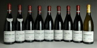 2009 Domaine de la Romanee Conti (DRC) - Mini Assortment (RC/LT/R/RS/GE/E/C/VR/M total 9btl)