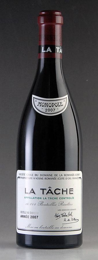 [2007] ラ・ターシュ La Tache ドメーヌ・ド・ラ・ロマネ・コンティ DRC