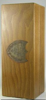 香槟 Dom 侬玫瑰 750 毫升 1982年与原始的木制箱子包含 Moet et 酩悦香槟 MOET et 酩悦香槟公司