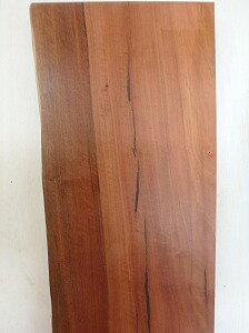 モアビ 一枚板 片耳 カウンター 天板 ヒビ埋め オイル塗装済