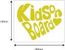 Kids on board(kids in car) 車 ステッカー カッティング