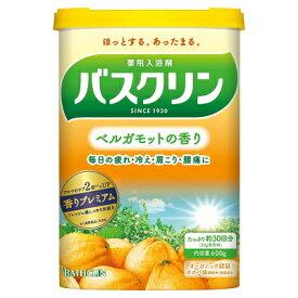 バスクリン ベルガモットの香り 600g 【医薬部外品】