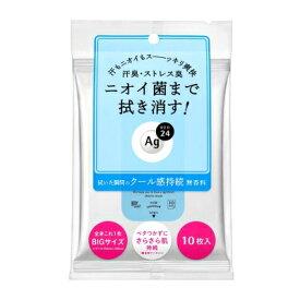 【資生堂】エージーデオ24 クリアシャワーシート クール 10枚