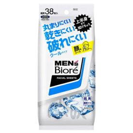 メンズビオレ 洗顔シート クール 38枚入 【化粧品】