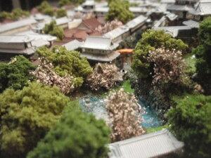 城ミニ[完成品]金沢城 ケース付き ミニサイズ 加賀100万石 加賀前田家 日本の城 日本100名城 お城 ジオラマ 模型 プラモデル 城郭模型