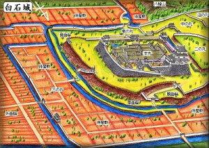 城ミニ[鍬匠甲冑屋]  白石城 (宮城県) 続日本100名城 日本の城 お城のジオラマ模型 プラモデル 城郭模型