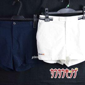 【中古】PRINCE/Ellesse ハーフパンツ サイズM ネイビー/ホワイト 2点