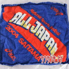 【中古】ナショナル スポーツ フェスティバル 2004 埼玉 アシックス asics ハンドタオル