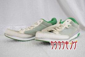 【中古】アディダス(adidas) クライマークール アディコート V23481 サイズ27.0cm ホワイト/グリーン