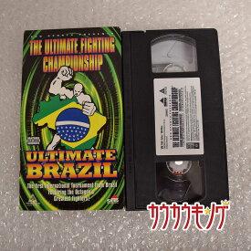 【中古】THE ULTIMATE FIGHTING チャンピオンシップ ULTIMATE ブラジル VHS UFC