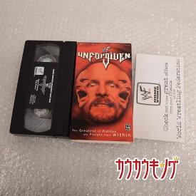 【中古】WWE Unforgiven 2001 プロレス VHS