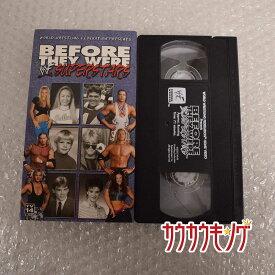 【中古】Before They Were WWF Superstars プロレス VHS