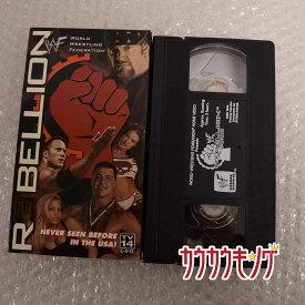 【中古】WWF WWE Rebellion 2000 VHS プロレス