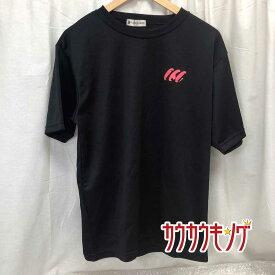 【中古】TSP プラシャツ 半袖シャツ Tシャツ ブラック サイズLL メンズ 卓球ウェア 2009 北九州 全中