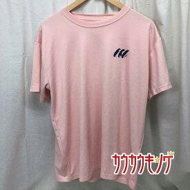 【中古】ヤマト卓球 VICTAS プラシャツ 半袖シャツ Tシャツ ピンク サイズO メンズ 卓球ウェア 2008 全日本 神戸