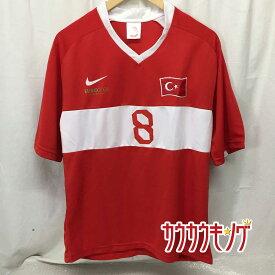【中古】サッカー トルコ代表 #8 Nihat ニハト カフヴェジ ユニフォーム ユーロ 2008 サイズM サッカー ウェア