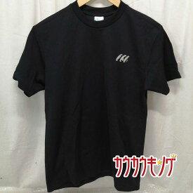 【中古】TSP 半袖シャツ プラシャツ インターハイ 大阪 75th Tシャツ ブラック サイズS 卓球ウェア