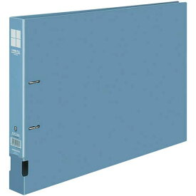コクヨ DリングファイルPP 青A3横 背幅45mm