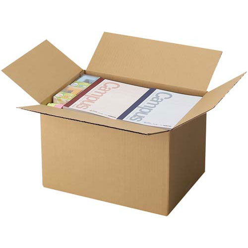 カウネット 無地ダンボール No.4−2(底面LL) 10枚【1twe】 | 段ボール 梱包 梱包資材 梱包材 箱 収納 引っ越し用 引越し 作業用品 生活雑貨 まとめ買い カウモール LL LLサイズ