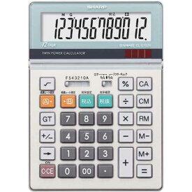 シャープ 電卓 デスク型 実務タイプ EL−S752K