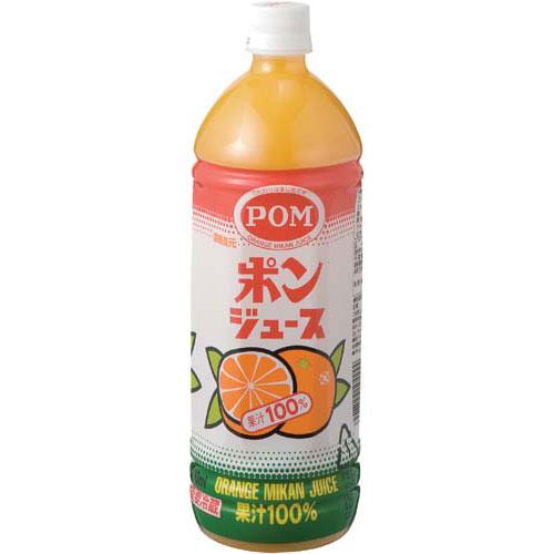 えひめ飲料 POM ポンジュース100% 1L 6本