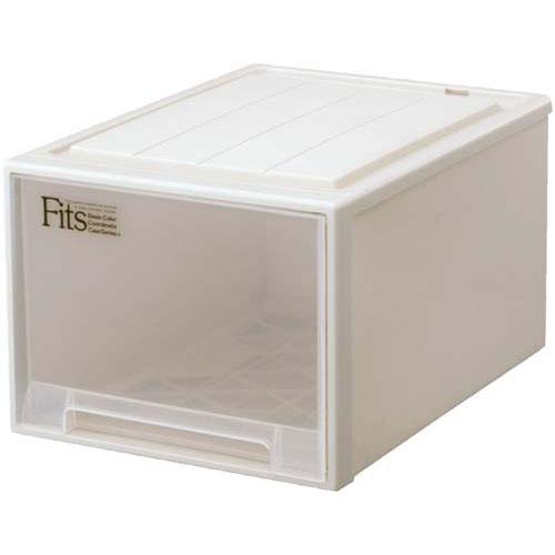 天馬 Fits テンマ フィッツケース(奥行53cm)L−53 | 収納ボックス 収納ケース 衣装ケース 衣装ボックス 衣類ケース 衣類ボックス 衣類収納ボックス プラスチック 押入れ 引き出し フィッツケース カウモール カウネット