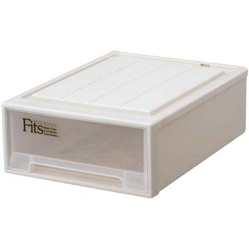 天馬 Fits テンマ フィッツケース(奥行53cm)S−53 | 収納ボックス 収納ケース 衣装ケース 衣装ボックス 衣類ケース 衣類ボックス 衣類収納ボックス プラスチック 押入れ 引き出し フィッツケース カウモール カウネット