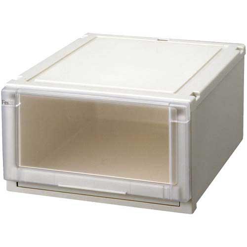 テンマ フィッツユニット4525 幅45×奥行55cm | 収納ボックス 収納ケース 衣装ケース 衣装ボックス 衣類ケース 衣類ボックス 衣類収納ボックス プラスチック 押入れ 引き出し フィッツケース カウモール カウネット