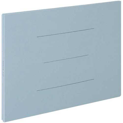 コクヨ ガバットファイル(紙製) B4横 青