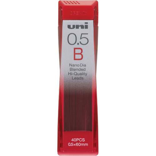 三菱鉛筆 シャープ芯 ナノダイヤ芯0.5 B 40本入