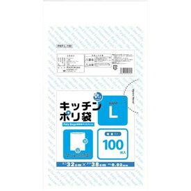 オルディ プラスプラスキッチンポリ袋L 100枚×5関連ワード【ビニール袋 ポリ袋 レジ袋】