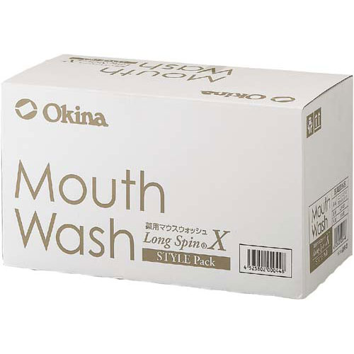 オキナ 薬用マウスウォッシュロングスピン ミント 100個【1fou】