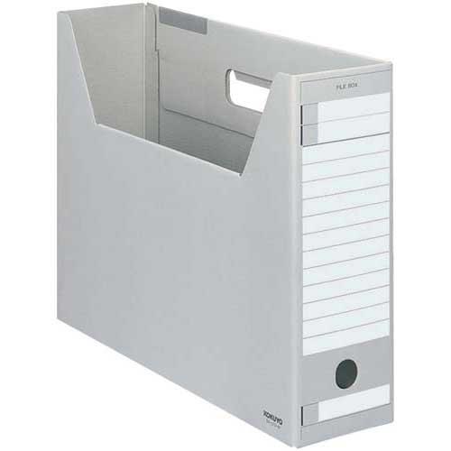 コクヨ ファイルボックス Dタイプ B4横 灰