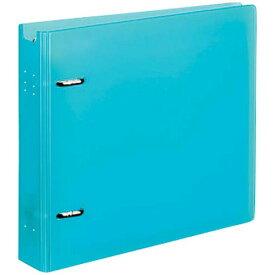 コクヨ CD/DVDファイル 22枚収納 ライトブルー