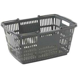 スーパーメイト ショッピングバスケット33L Dグレー