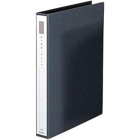 カウネット リングファイル紙製黒A4縦背幅42mm10冊