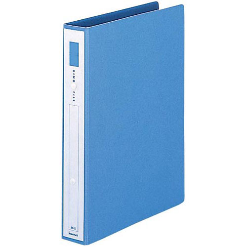 カウネット リングファイル紙製青A4縦背幅42mm30冊