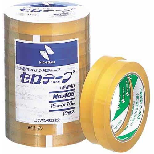 ニチバン セロテープ業務用 幅15mm×長さ70m 10巻