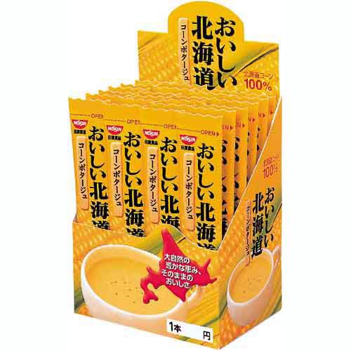日清食品 おいしい北海道 コーンポタージュスープ 24食入【1six】
