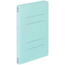 コクヨ フラットファイルV樹脂とじ具 A5縦 青 10冊