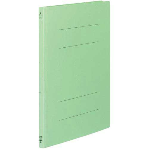 コクヨ フラットファイルV樹脂とじ具 B4縦 緑 10冊